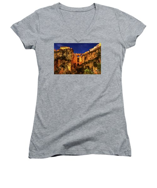 Ronda By Night Women's V-Neck