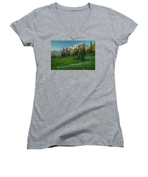 Room With A View 2 Women's V-Neck (Athletic Fit)