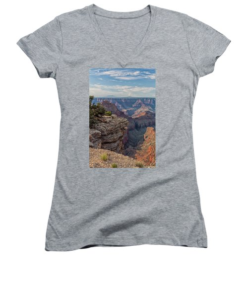 Canyon Below Women's V-Neck (Athletic Fit)