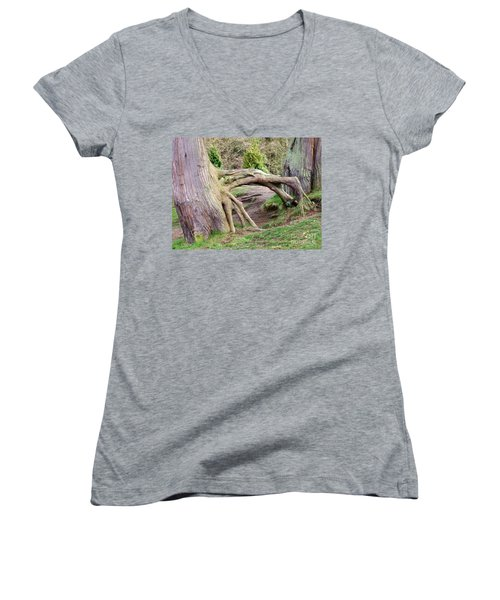 Roots Of Strength Women's V-Neck (Athletic Fit)