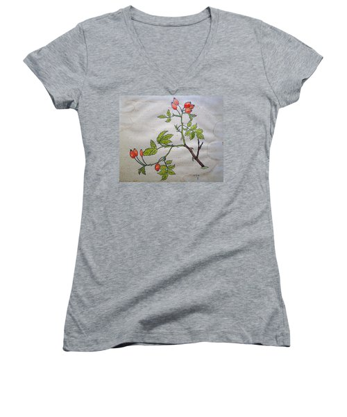 Rose Hip Women's V-Neck