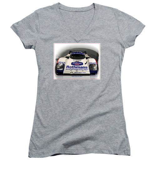 Rothmans Porche Women's V-Neck (Athletic Fit)