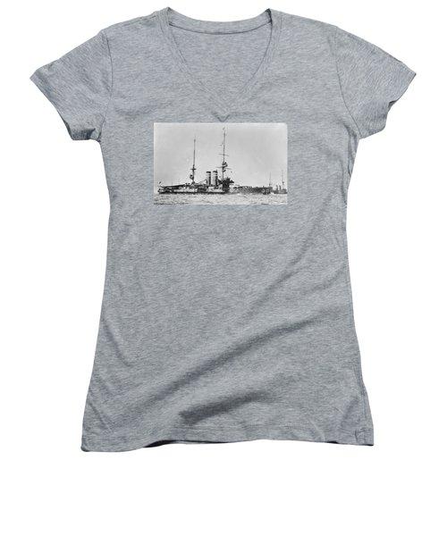 Royal Navy Women's V-Neck T-Shirt