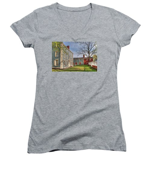 Royall House And Slave Quarters Women's V-Neck (Athletic Fit)