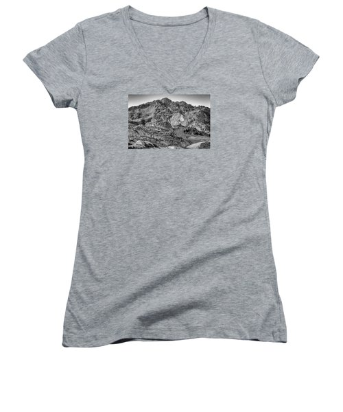 Rugged Mountains Women's V-Neck T-Shirt