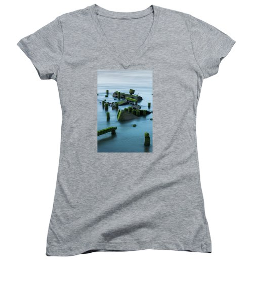 Ruins Of The Day Women's V-Neck