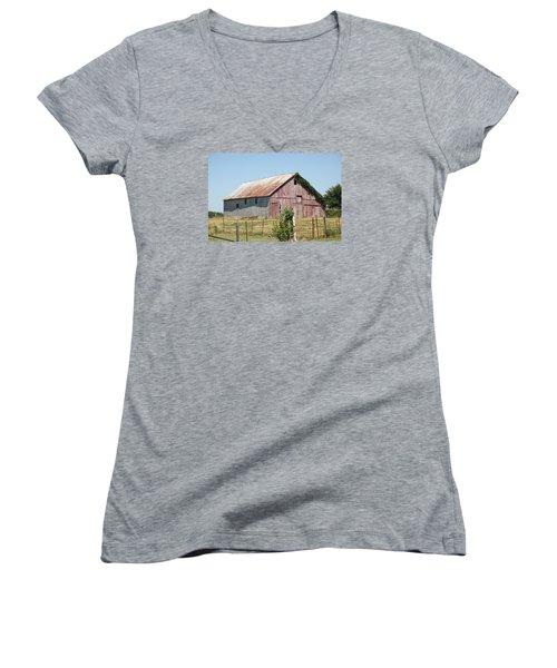 Rural Moberly  Women's V-Neck T-Shirt