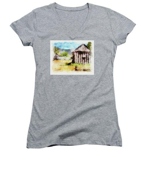 Rural Remnants Women's V-Neck T-Shirt