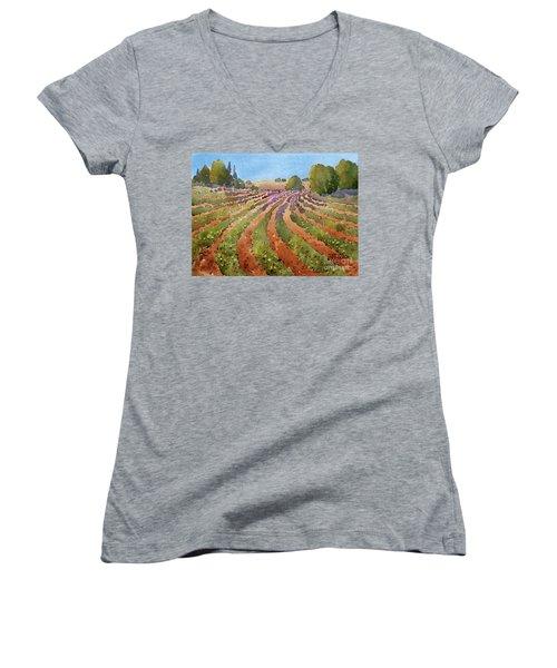 Rural Rhythm Women's V-Neck T-Shirt