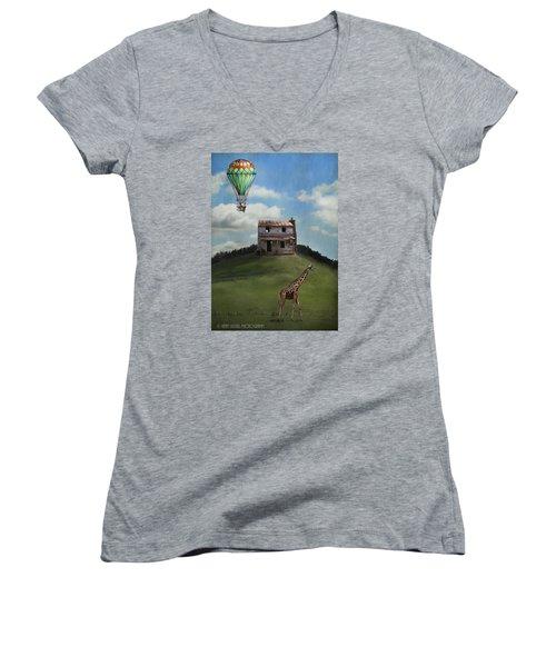Rural World Women's V-Neck T-Shirt