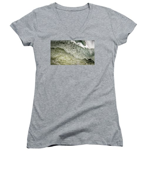Rushing Water Women's V-Neck (Athletic Fit)
