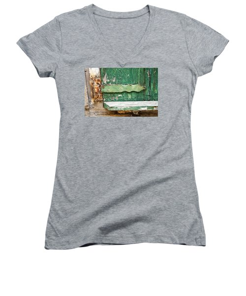 Rust And Paint Women's V-Neck (Athletic Fit)