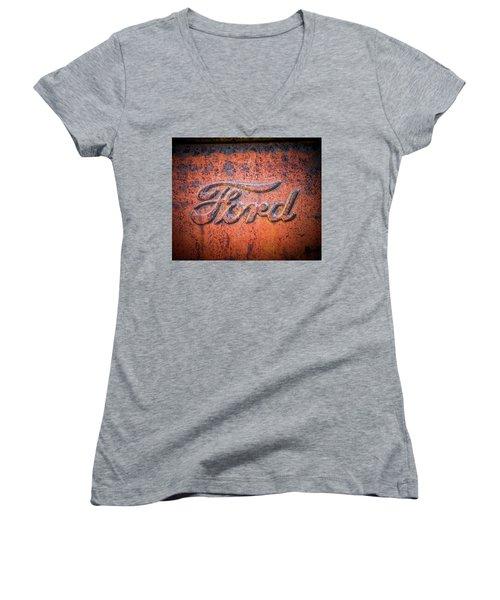 Rust Never Sleeps - Ford Women's V-Neck