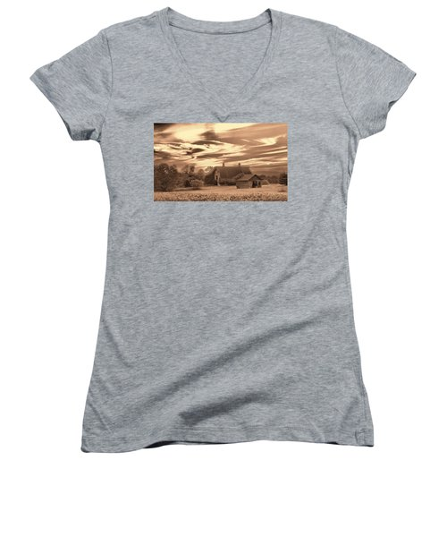 Rustic Barn 2 Women's V-Neck