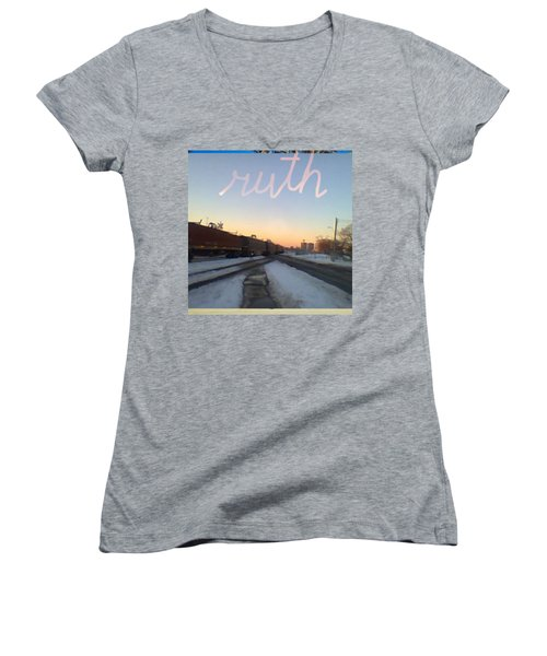 Ruth Women's V-Neck T-Shirt