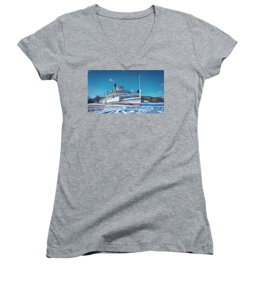 S. S. Sicamous Women's V-Neck