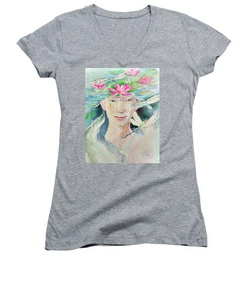 Sacred Awakening Women's V-Neck T-Shirt