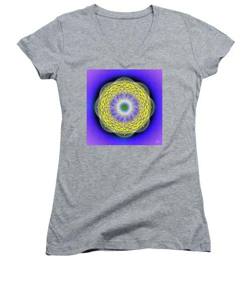 Sacred Geometry 655 Women's V-Neck