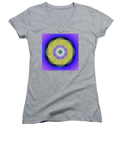 Sacred Geometry 655 Women's V-Neck (Athletic Fit)