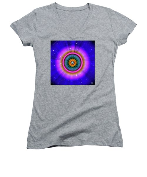 Sacred Geometry 660 Women's V-Neck