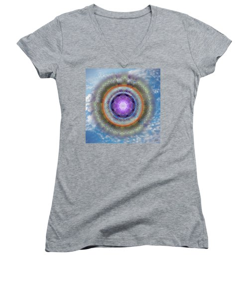 Sacred Geometry 716 Women's V-Neck