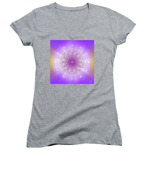 Sacred Geometry 721 Women's V-Neck