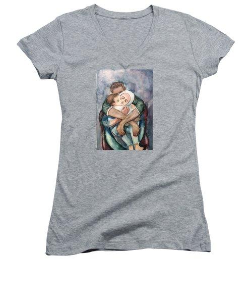 The Saddest Moment Women's V-Neck T-Shirt