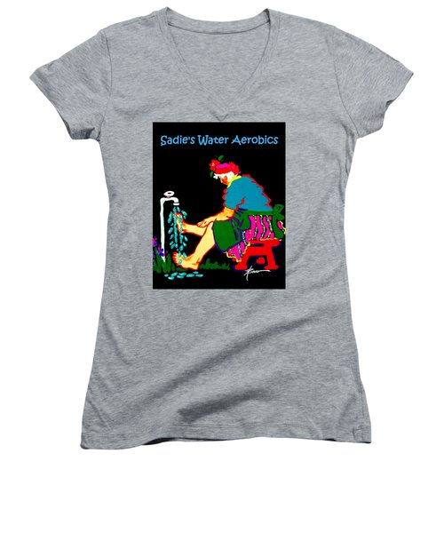 Sadie's Water Aerobics  Women's V-Neck