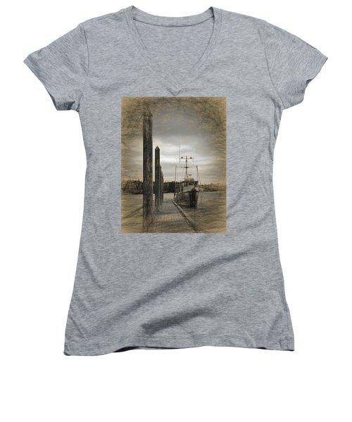 Safe Harbor Women's V-Neck T-Shirt