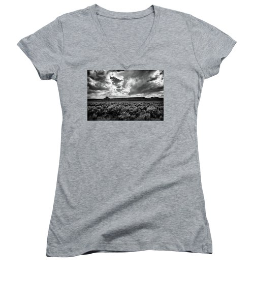 Sage And Clouds Women's V-Neck