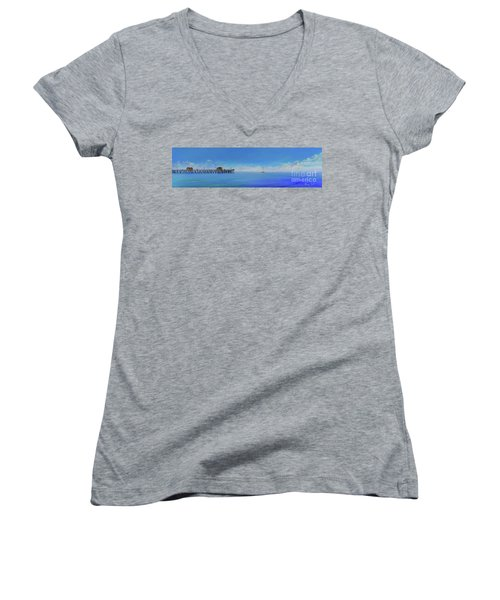 Sailing By San Clemente Women's V-Neck