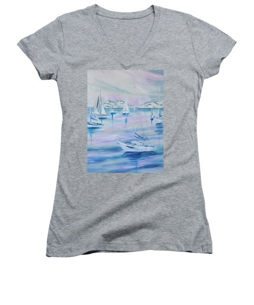 Sailing Women's V-Neck T-Shirt