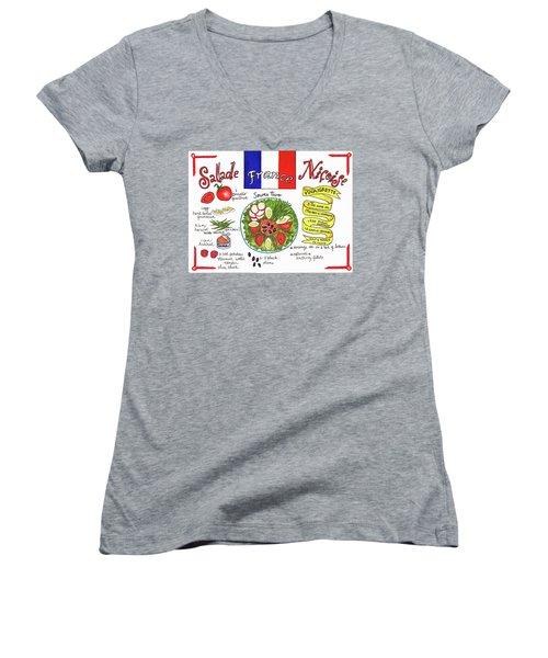 Salade Nicoise Women's V-Neck
