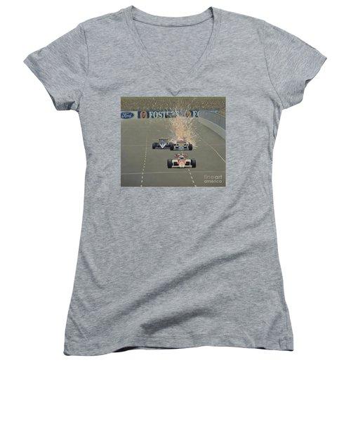 Salute Women's V-Neck T-Shirt