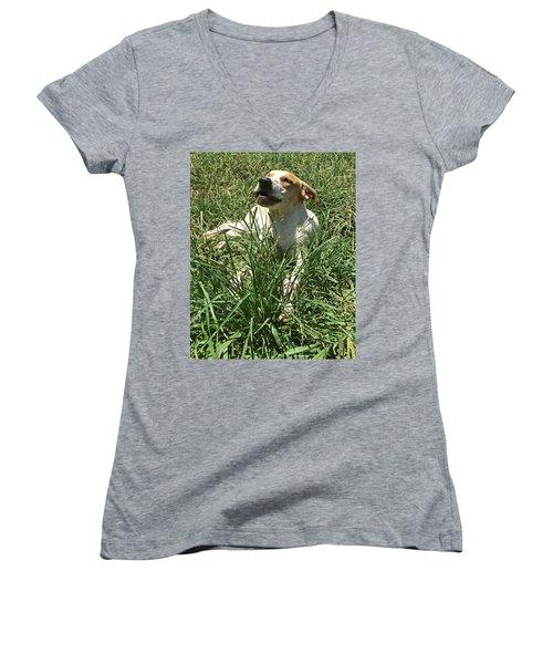 Sam Adams Women's V-Neck T-Shirt