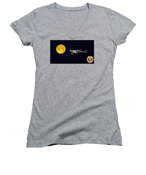 Sam And The Moon Women's V-Neck