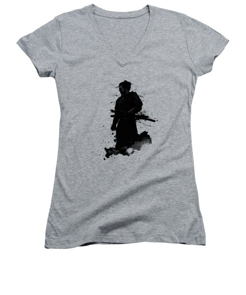 Samurai Women's V-Neck T-Shirt