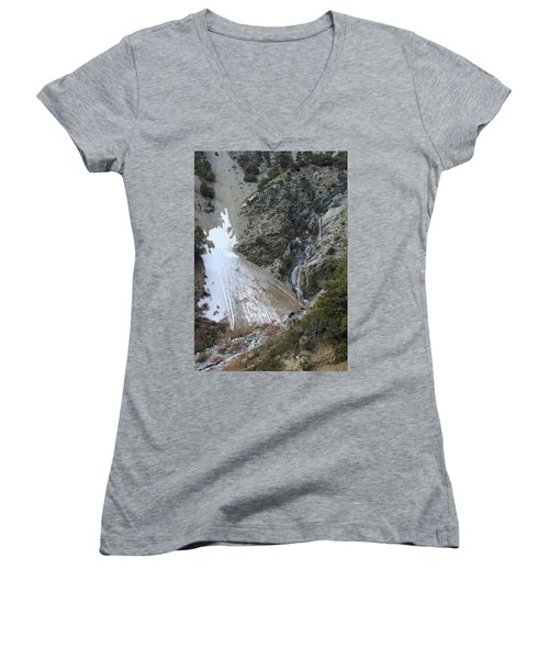 San Antonio Waterfalls Women's V-Neck T-Shirt