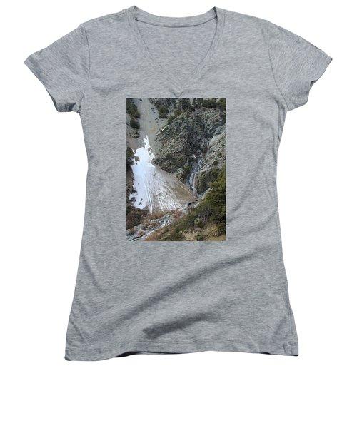 San Antonio Waterfalls Women's V-Neck