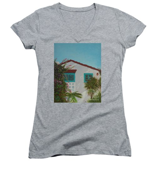 San Clemente Art Supply Women's V-Neck