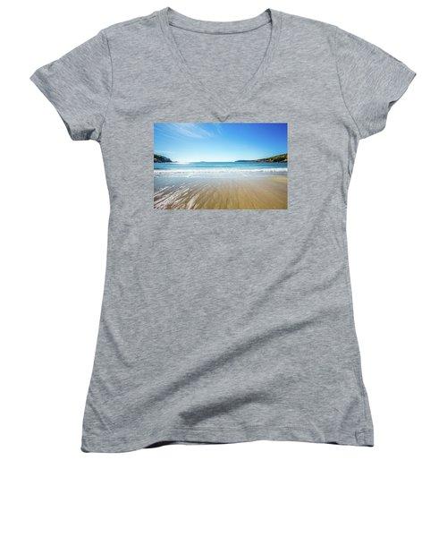 Sand Beach Women's V-Neck