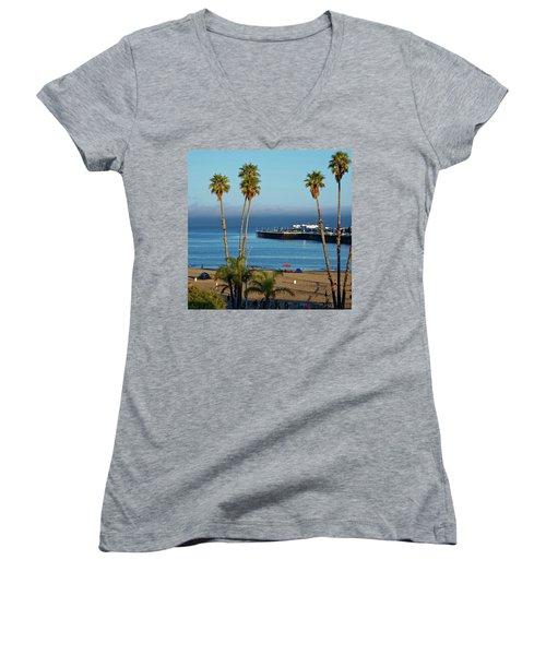 Santa Cruz Beach Women's V-Neck