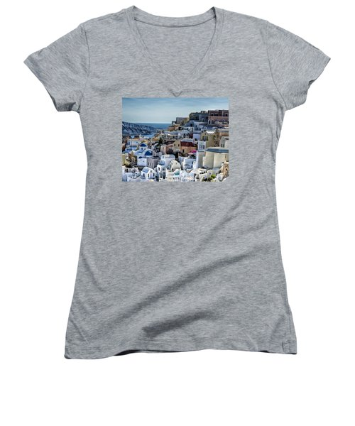 Santorini Women's V-Neck