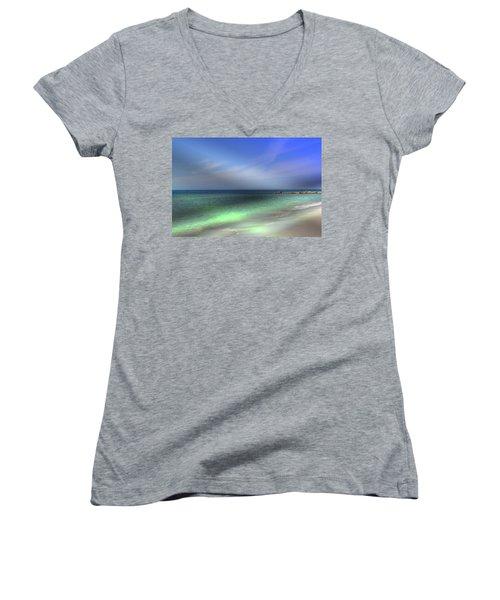 Sarasota Ocean  Women's V-Neck T-Shirt