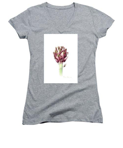 Sardinian Artichoke Women's V-Neck T-Shirt