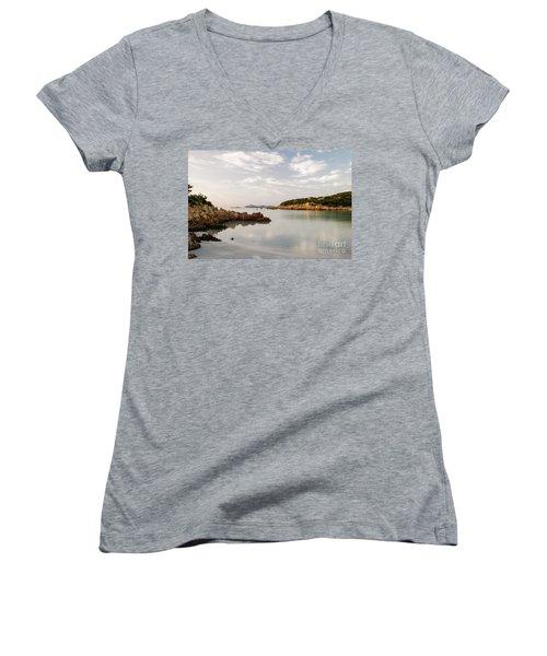 Sardinian Coast I Women's V-Neck T-Shirt