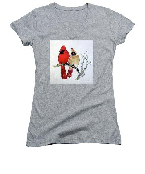Sassy Pair Women's V-Neck T-Shirt