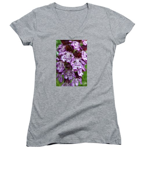 Savage Orchid 2 Women's V-Neck