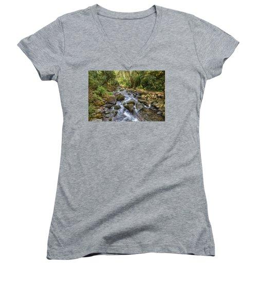 Savegre River - Costa Rica Women's V-Neck
