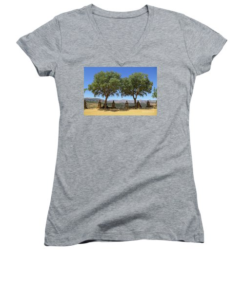 Scapes Of Our Lives #29 Women's V-Neck
